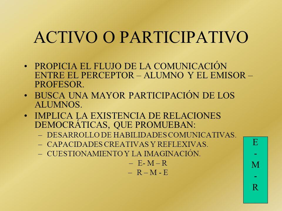 MODELOS DE LA COMUNICACIÓN EDUCATIVA EL MODELO TRADICIONAL: TIENE COMO BASE LA TRANSMISIÓN UNIDIMENCIONAL DEL MENSAJE. EL EMISOR: PROFESOR ( ARBRITRAR