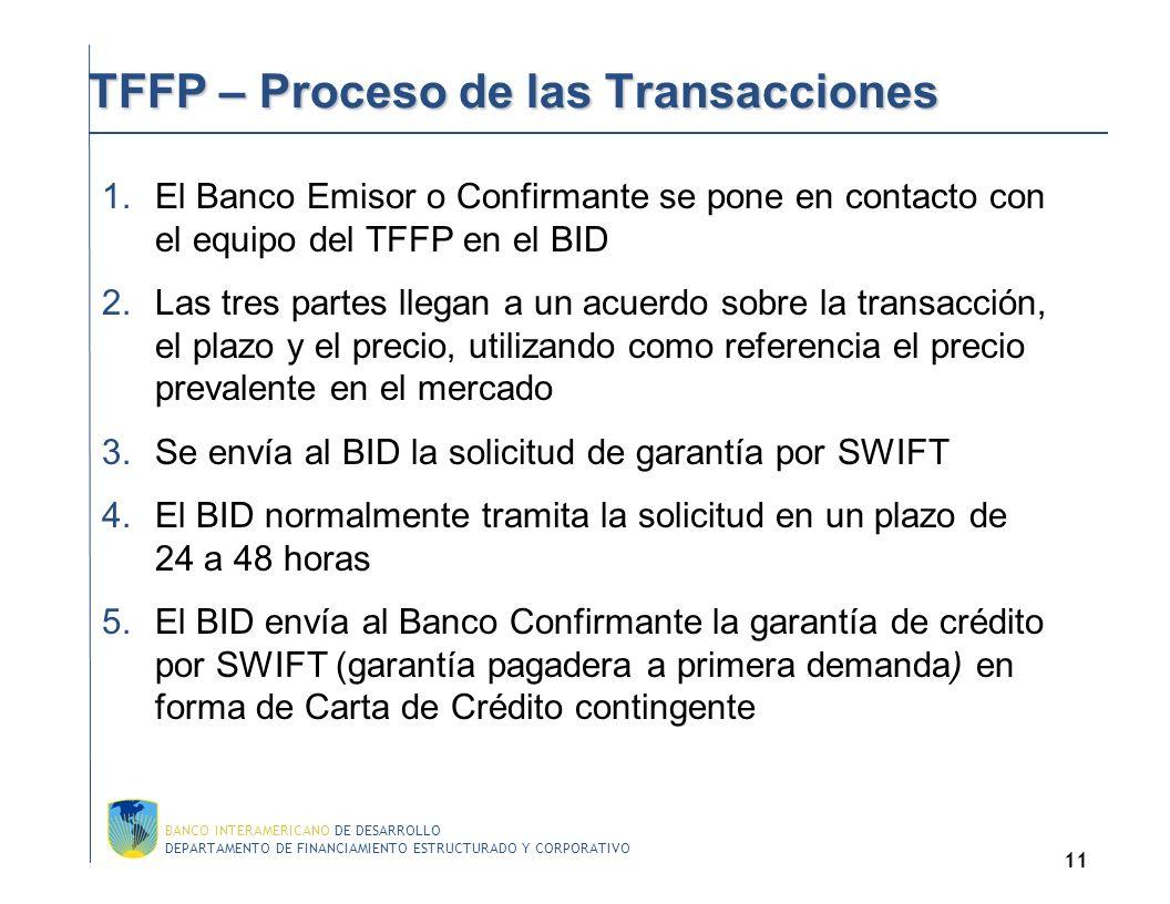 DEPARTAMENTO DE FINANCIAMIENTO ESTRUCTURADO Y CORPORATIVO BANCO INTERAMERICANO DE DESARROLLO 10 Financiamiento de Exporta ción : Pagarés 1.Contrato de