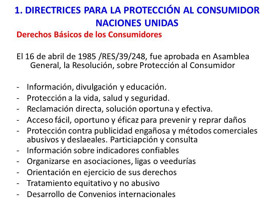 Regulaciones y tendencias Internacionales 1.1.
