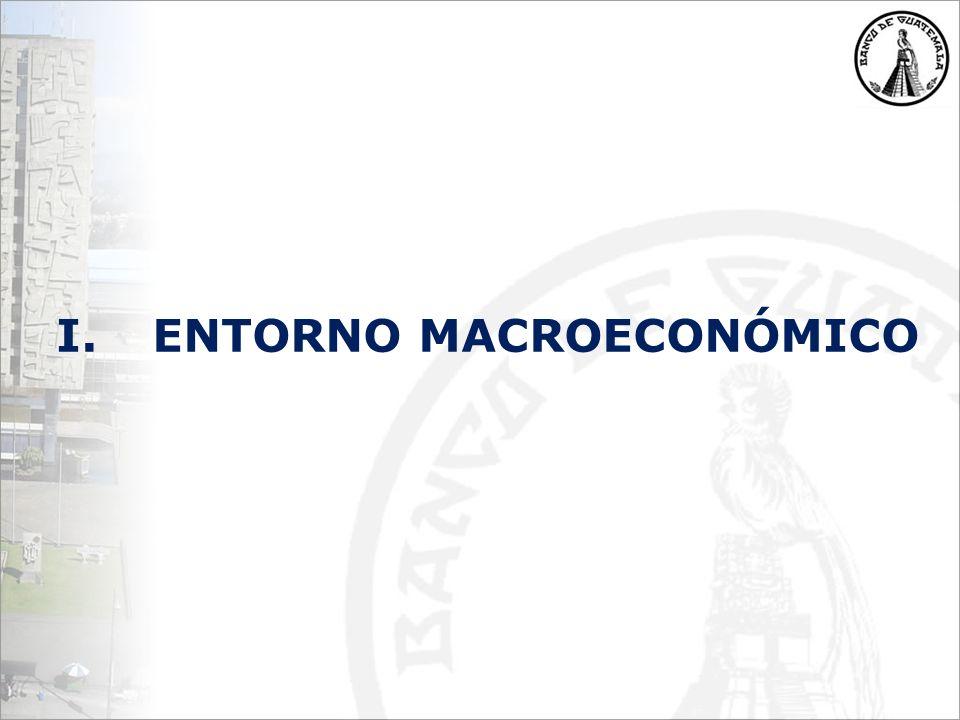 I.ENTORNO MACROECONÓMICO