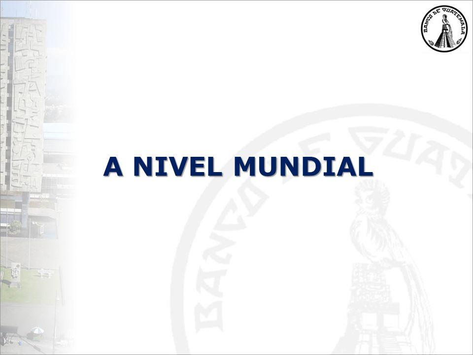 A NIVEL MUNDIAL