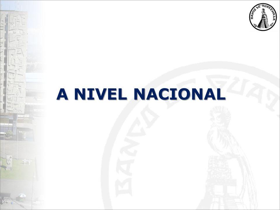 A NIVEL NACIONAL