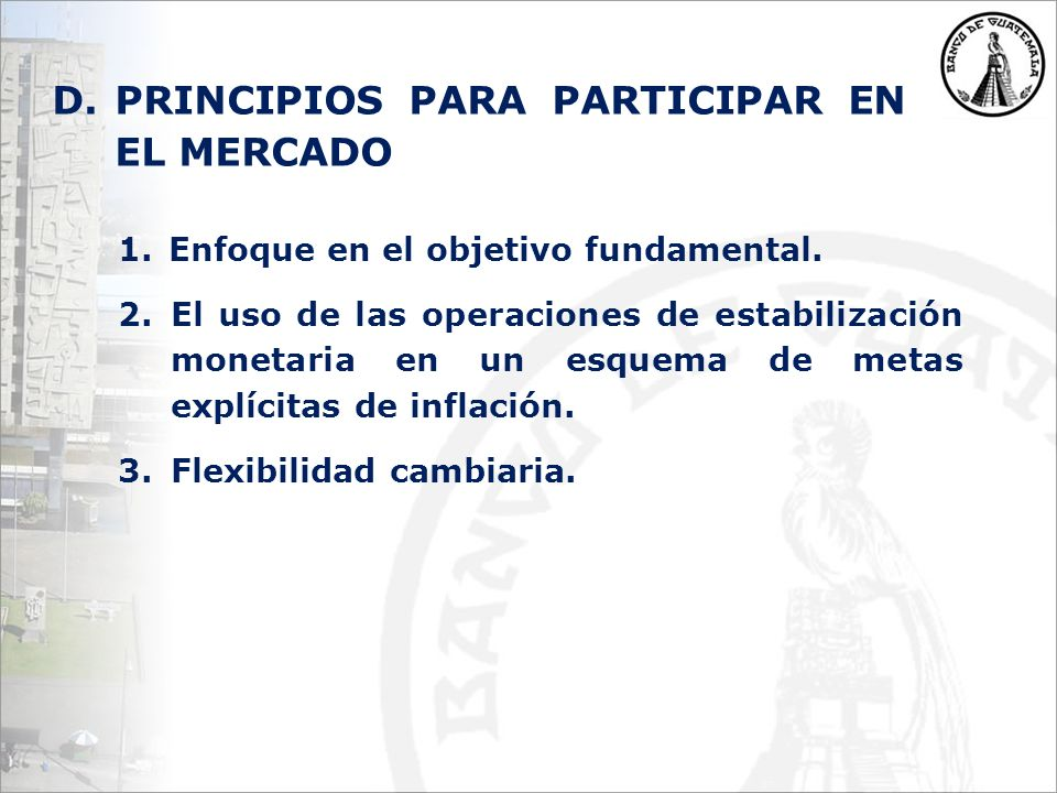 1. Enfoque en el objetivo fundamental.