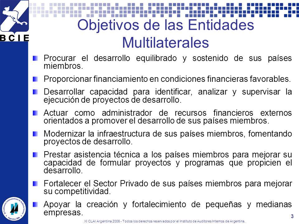 XI CLAI Argentina 2006 - Todos los derechos reservados por el Instituto de Auditores Internos de Argentina. 3 Procurar el desarrollo equilibrado y sos