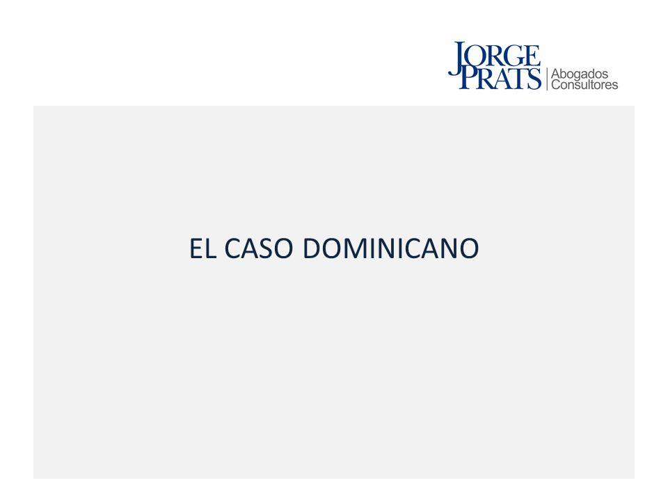 EL CASO DOMINICANO