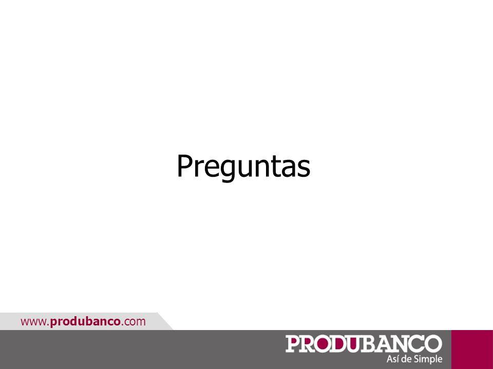 www.produbanco.com Preguntas