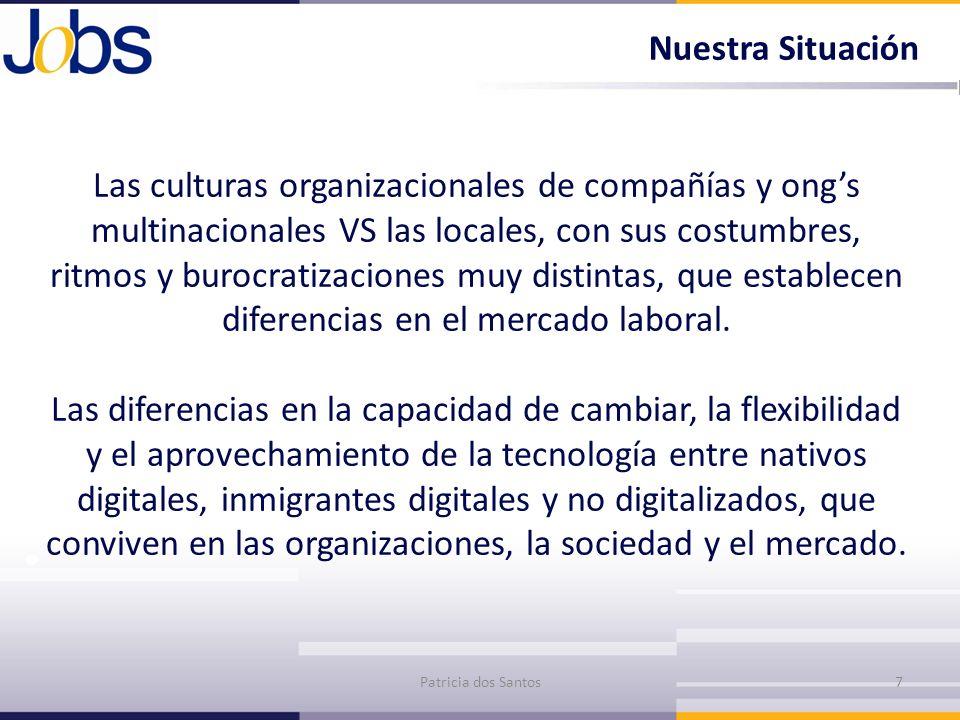 Las culturas organizacionales de compañías y ongs multinacionales VS las locales, con sus costumbres, ritmos y burocratizaciones muy distintas, que es