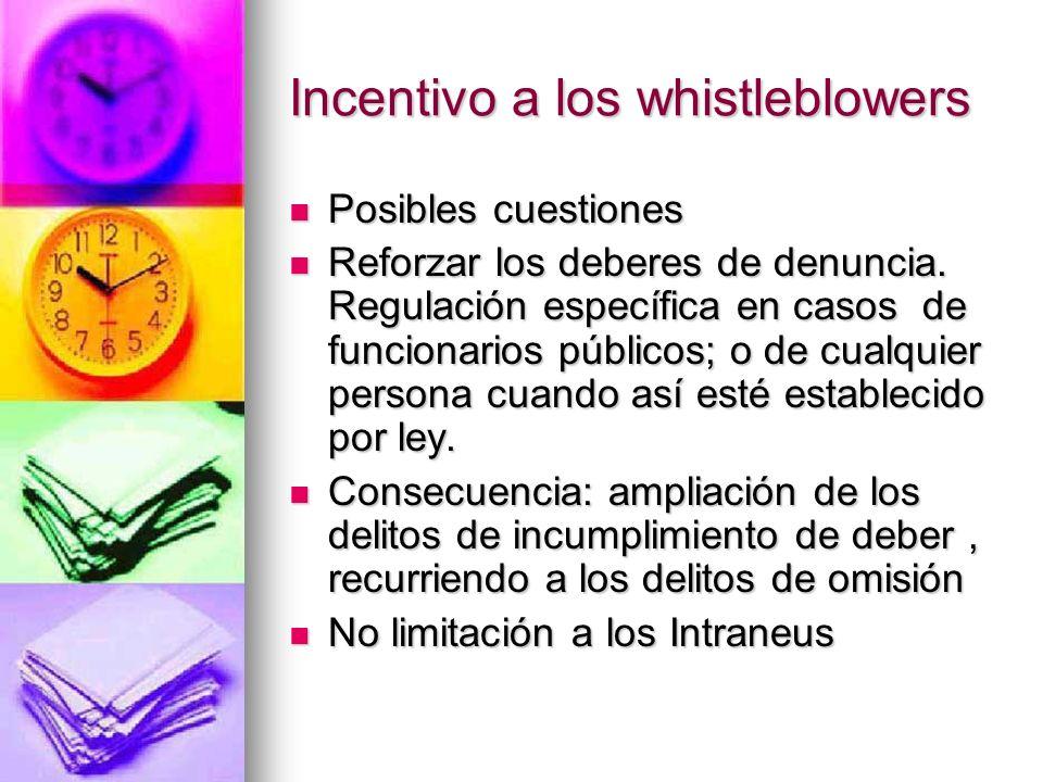 Prevención hechos delictivos Posibles cuestiones: Posibles cuestiones: ¿Revelación de conductas delictivas, o, de violación a disposiciones administra
