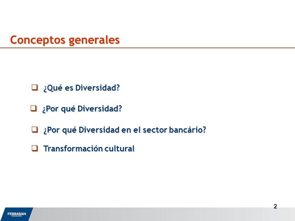 2 Conceptos generales ¿Qué es Diversidad. ¿Qué es Diversidad.