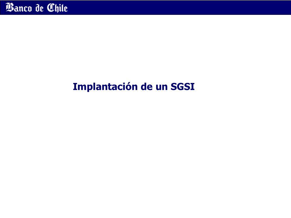 Implantación de un SGSI