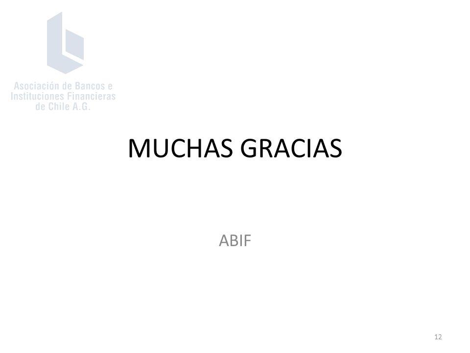 MUCHAS GRACIAS ABIF 12