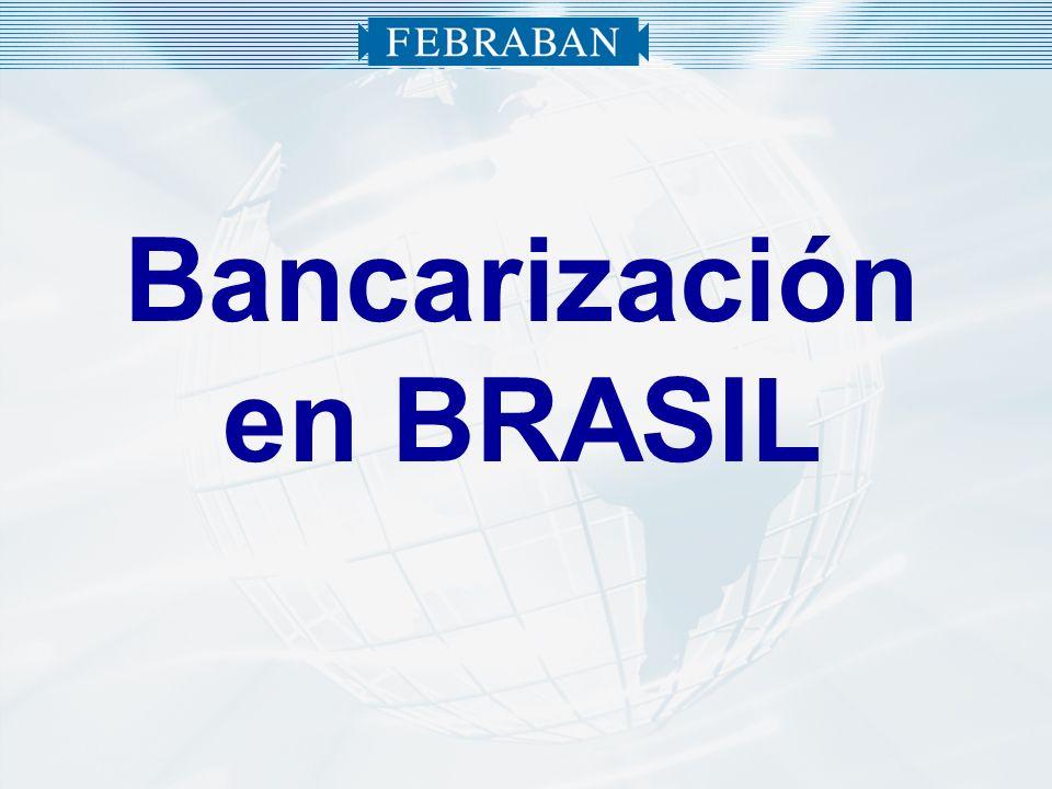 Bancarización en BRASIL