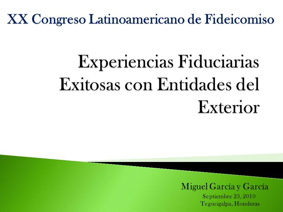XX Congreso Latinoamericano de Fideicomiso