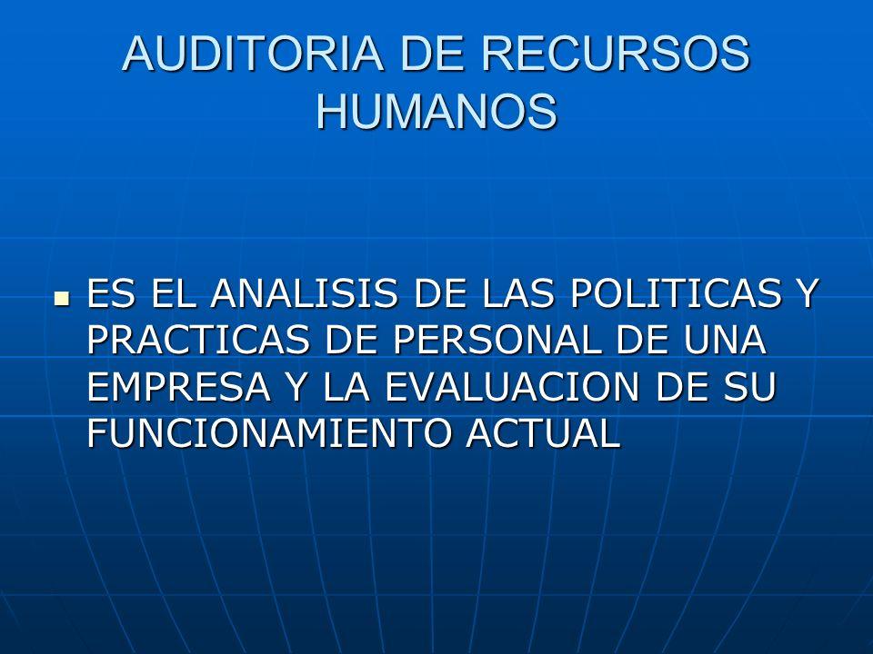 Beneficios que aporta la Auditoría de Recursos Humanos Identifica y mejora la imagen de los RR.HH.