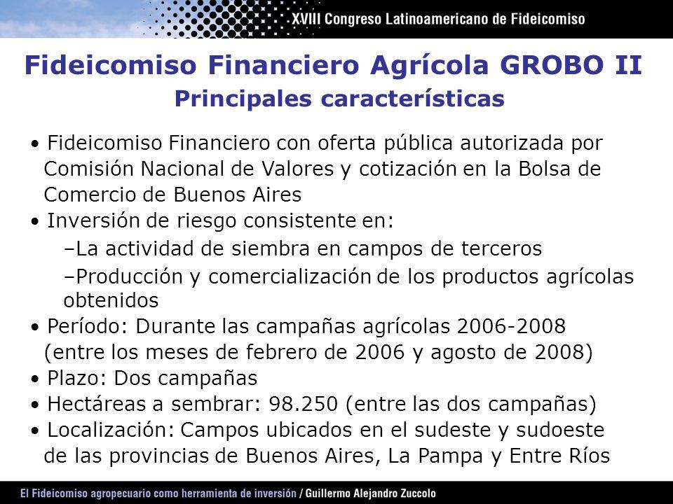 Fideicomiso Financiero con oferta pública autorizada por Comisión Nacional de Valores y cotización en la Bolsa de Comercio de Buenos Aires Inversión d