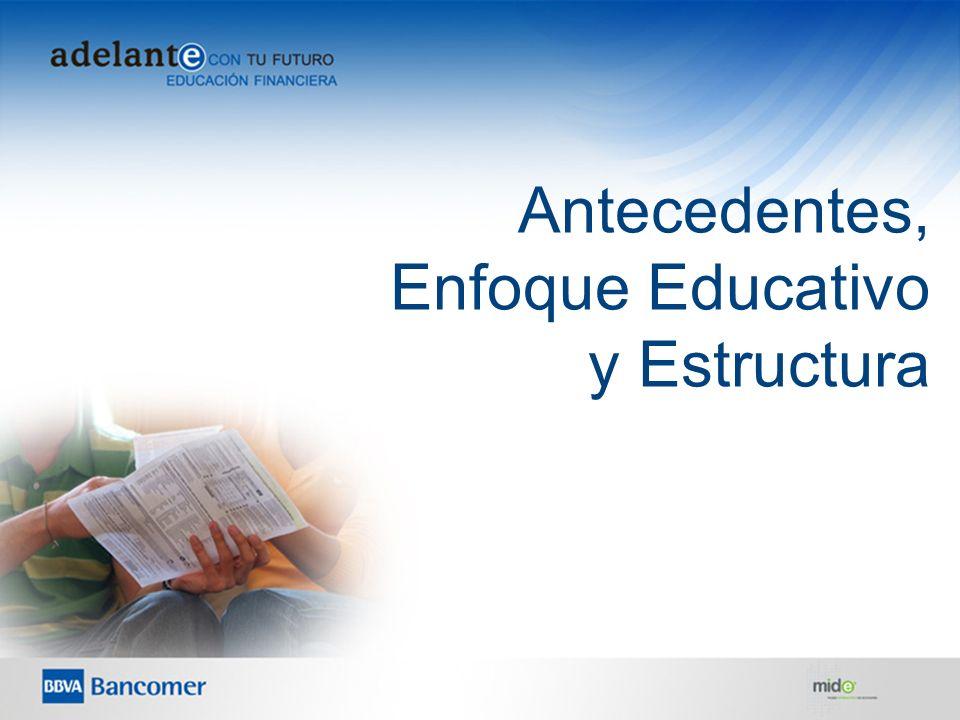 10 Antecedentes, Enfoque Educativo y Estructura