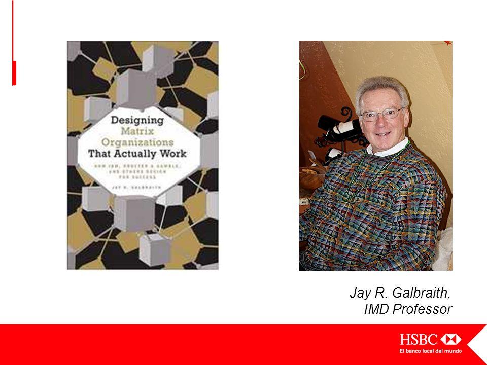 Jay R. Galbraith, IMD Professor