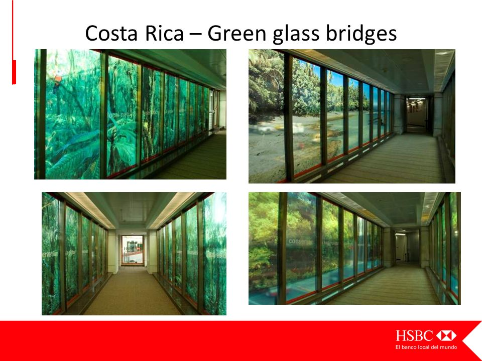 Costa Rica – Green glass bridges