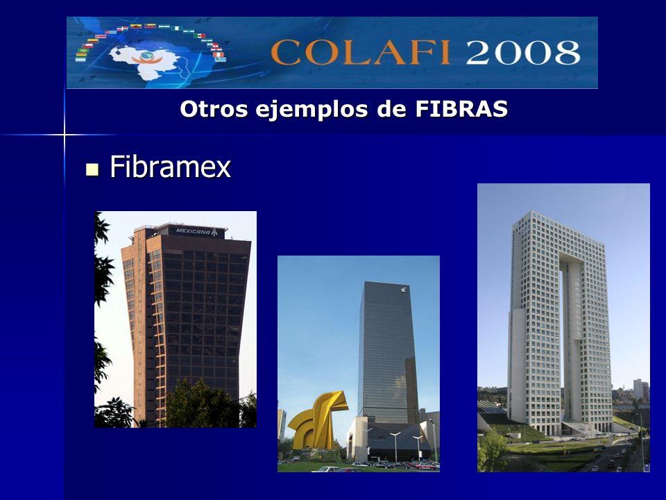 Fibramex Fibramex Otros ejemplos de FIBRAS