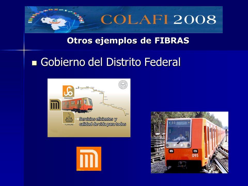 Gobierno del Distrito Federal Gobierno del Distrito Federal Otros ejemplos de FIBRAS
