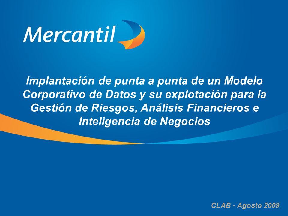 El alcance del proyecto corresponde a la puesta en producción del Modelo de Datos, CRM, Gestión de Riesgo de Crédito y Mercado y Administración de Rendimiento (MIS)
