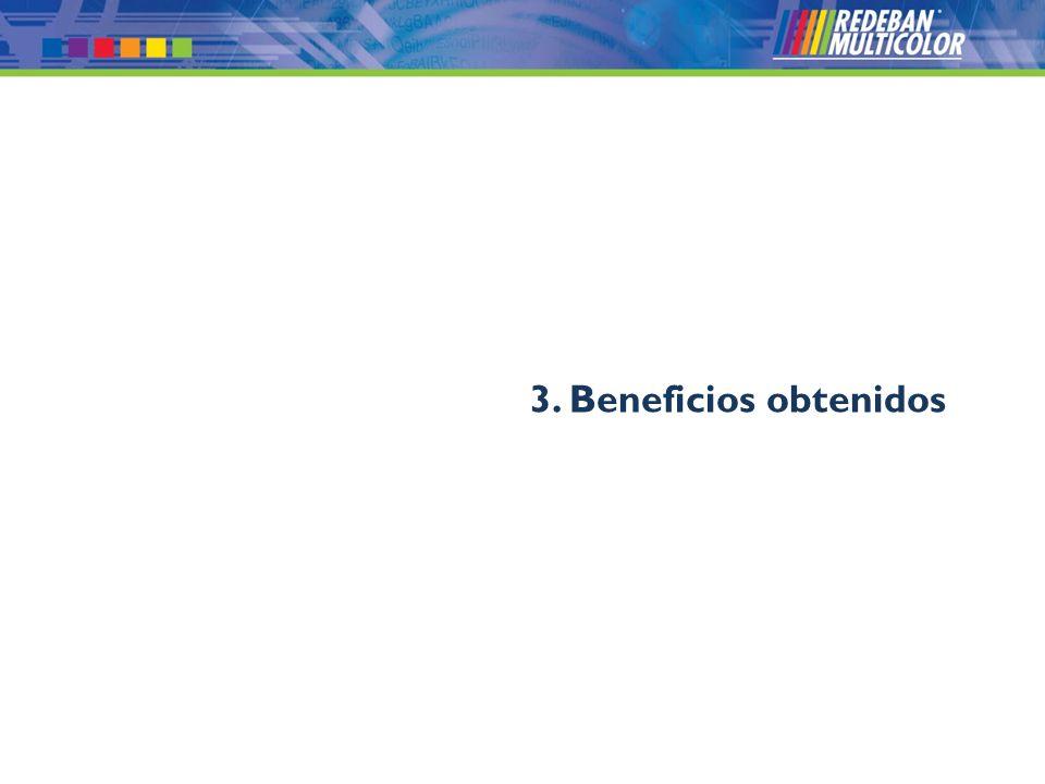 © 2008 Redeban Multicolor S.A. Todos los derechos reservados. 3. Beneficios obtenidos