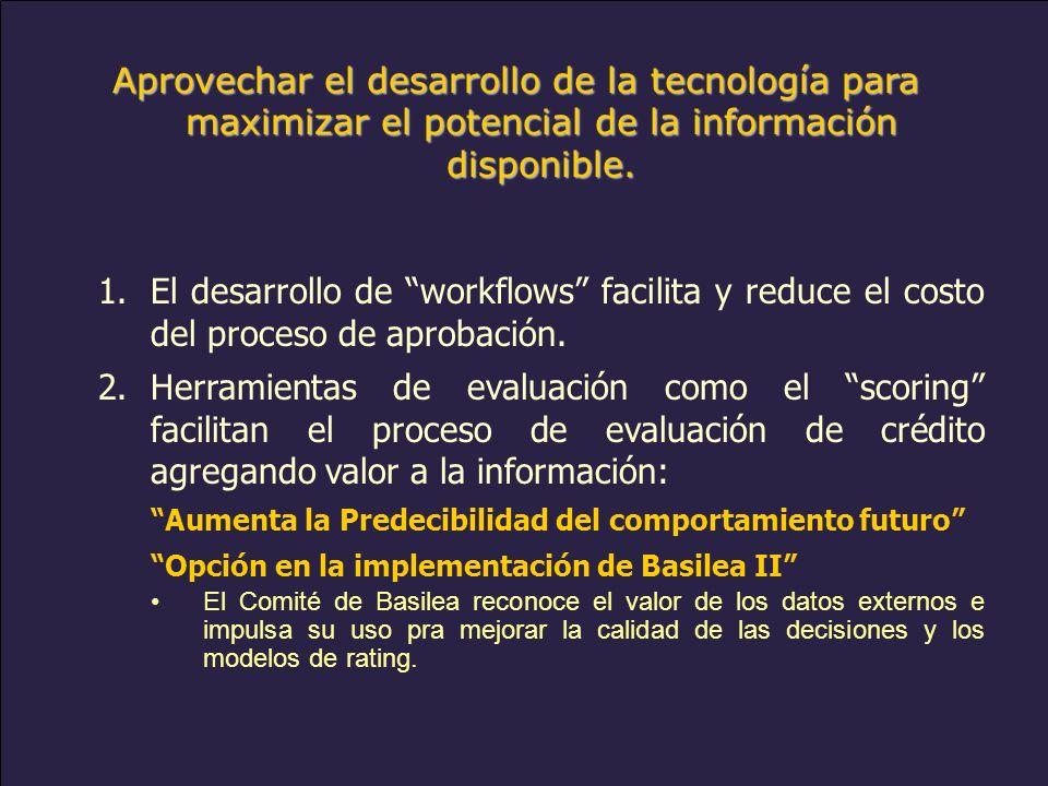 www.alacred.com Aprovechar el desarrollo de la tecnología para maximizar el potencial de la información disponible.