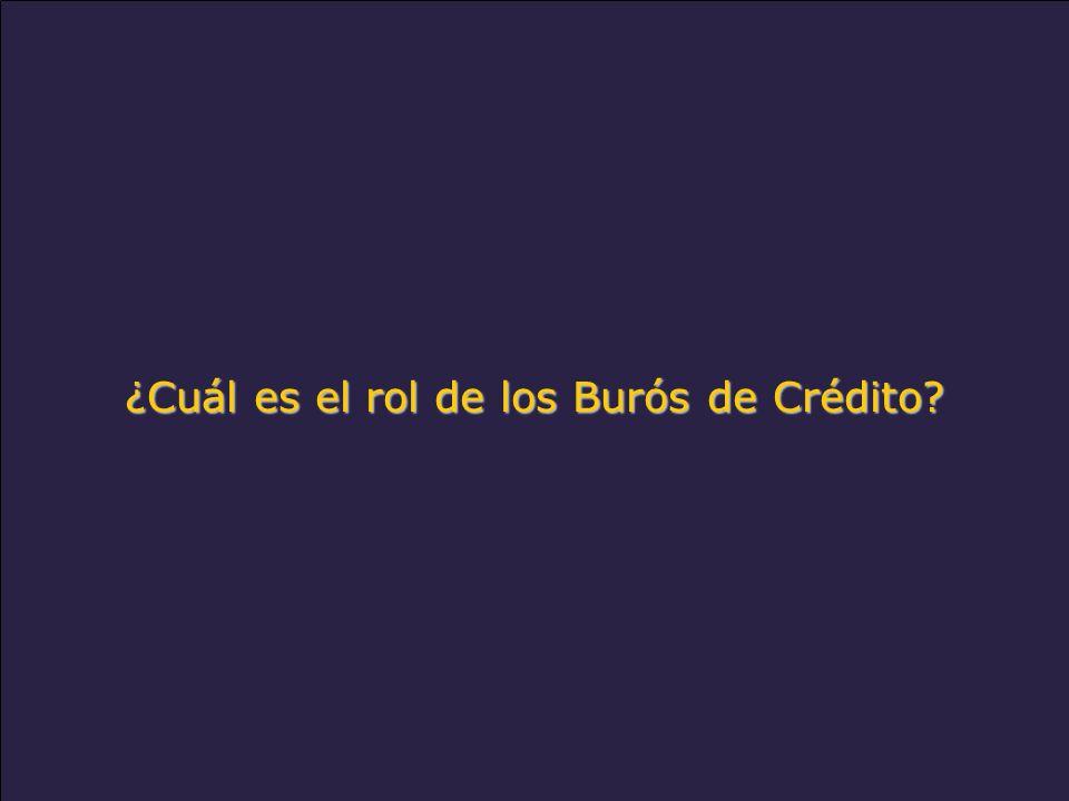 www.alacred.com ¿Cuál es el rol de los Burós de Crédito