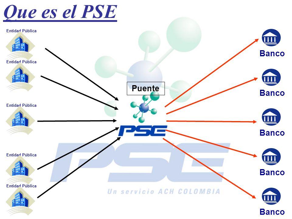 Que es el PSE Banco Entidad Pública Banco Puente