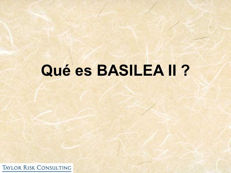 Qué es BASILEA II ?