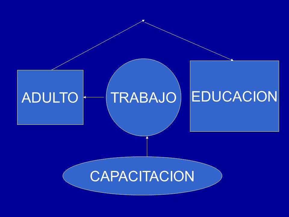 TRABAJO ADULTO CAPACITACION EDUCACION