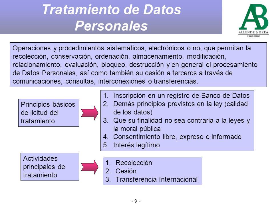 - 8 - Salvador, Claudio v.