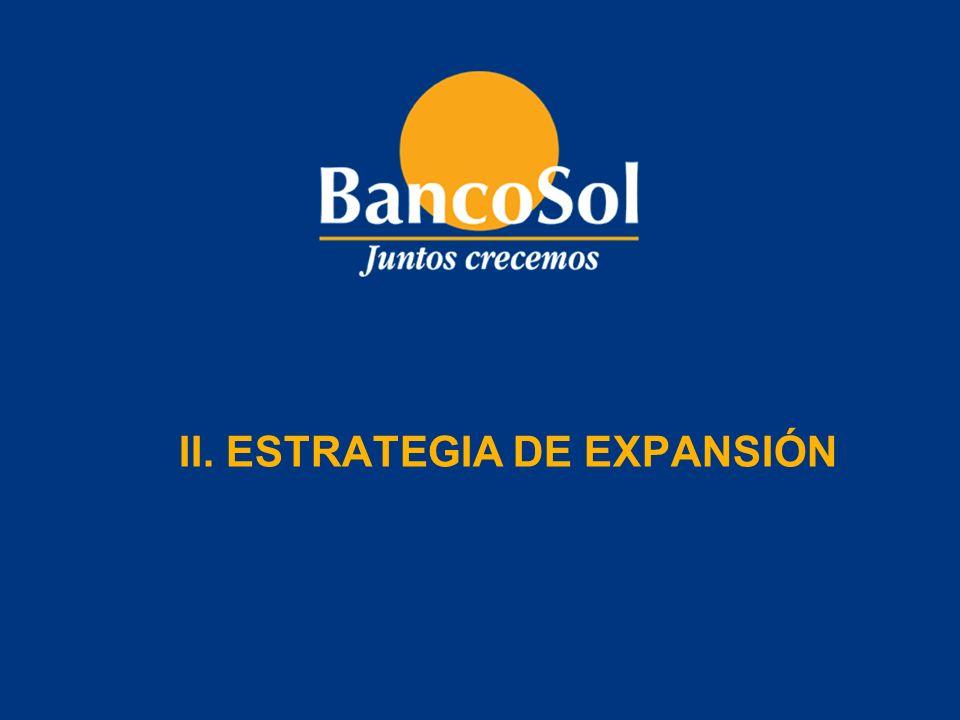 II. ESTRATEGIA DE EXPANSIÓN