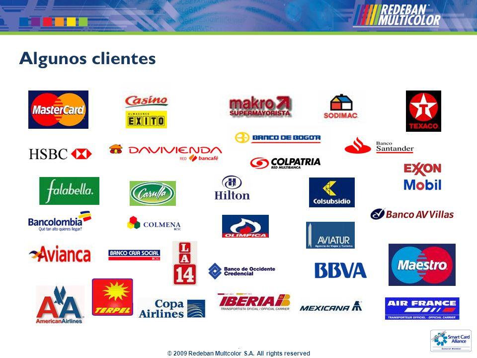 © 2009 Redeban Multcolor S.A.All rights reserved Es una transacción personalizada para cada banco.