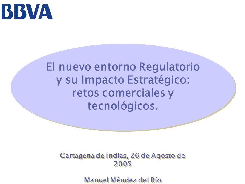 42 IMPLICACIONES ESTRATÉGICAS Basilea II eleva a la categoría de Regulación un hecho que ha existido siempre.