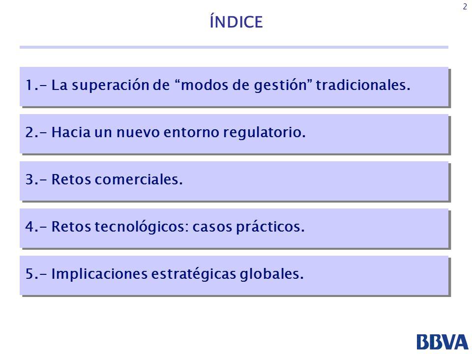 3 ÍNDICE 1.- La superación de modos de gestión tradicionales.