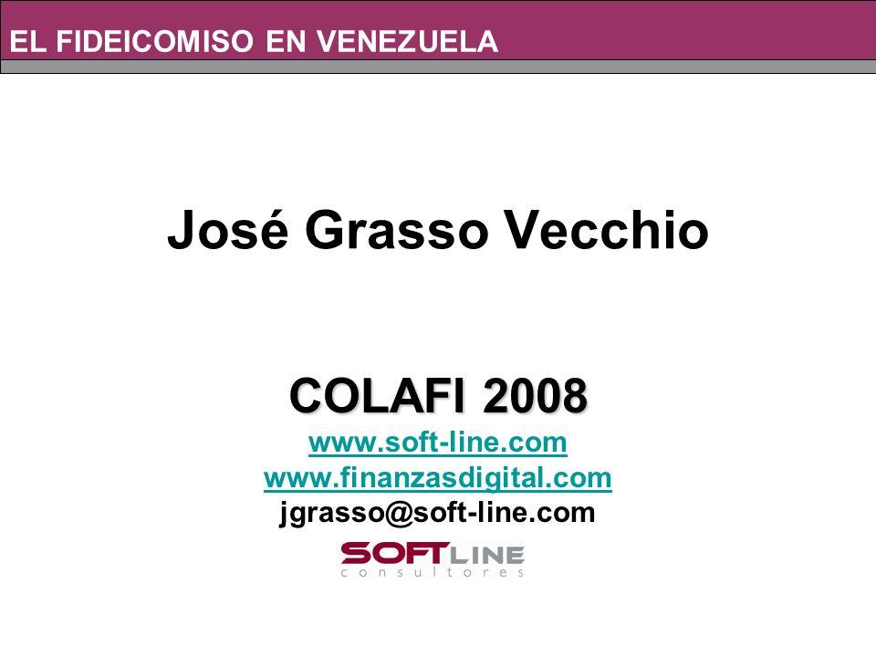 Composición de los Depósitos. EL FIDEICOMISO EN VENEZUELA