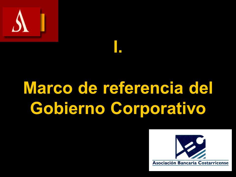 Obligatoriedad Marco Legal y Regulador Voluntariedad Estándares de Buen Gobierno ¿Cómo mejorar las prácticas.