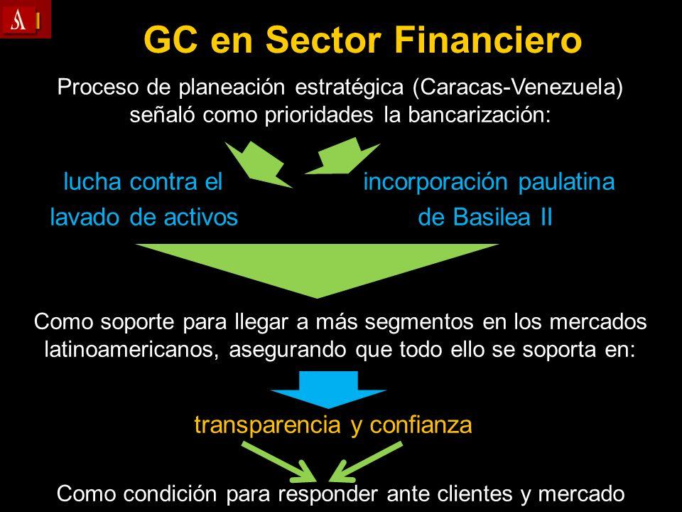 Proceso de planeación estratégica (Caracas-Venezuela) señaló como prioridades la bancarización: lucha contra elincorporación paulatina lavado de activ