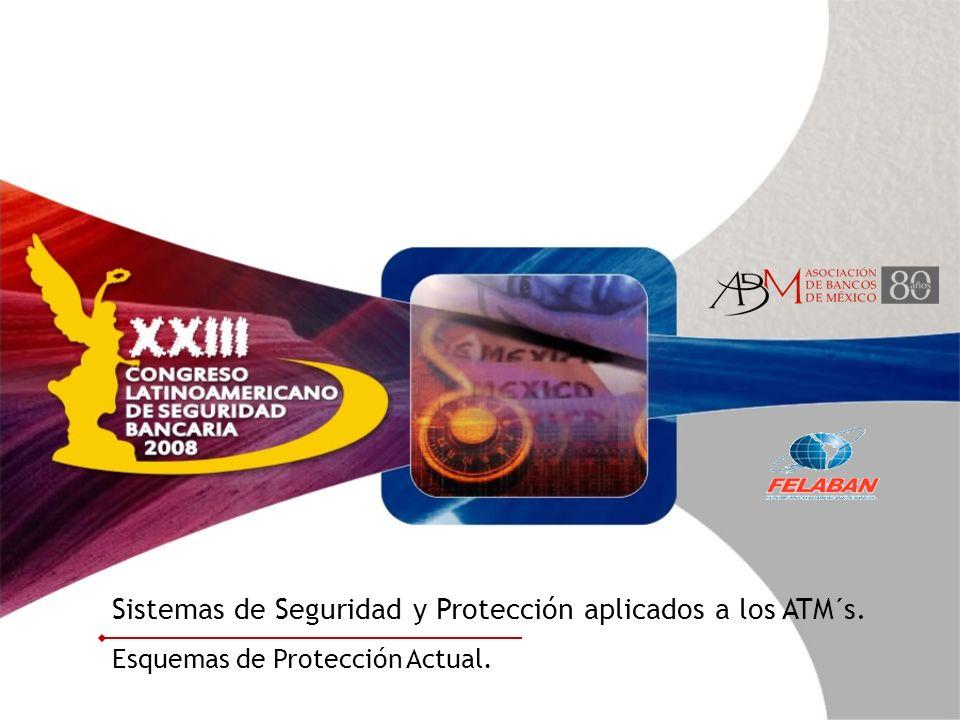 Sistemas de Seguridad y Protección aplicados a los ATM´s. Esquemas de Protección Actual.