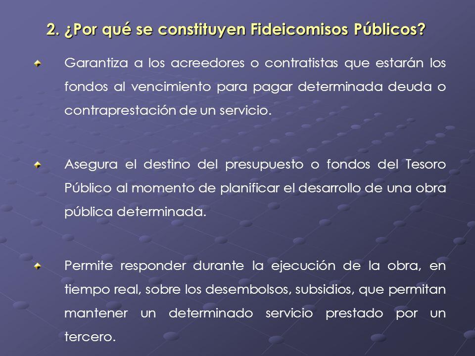 Ventajas del Uso del Fideicomiso Ventajas del Uso del Fideicomiso La actividad de el Fiduciario es controlada y supervisada por la Superintendencia de Bancos.