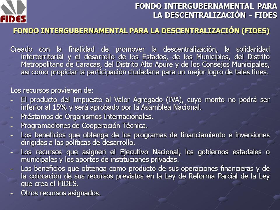 Ley creada con la finalidad de establecer el Régimen de Asignaciones Económicas Especiales, derivadas de Minas e Hidrocarburos, en beneficio de los Estados, Municipios, del Distrito Metropolitano de Caracas, del Distrito Apure y de los Consejos Comunales.