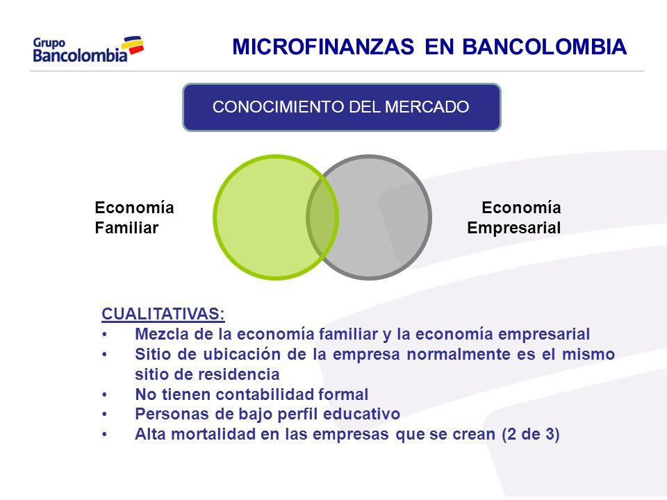 Economía Empresarial Economía Familiar CUALITATIVAS: Mezcla de la economía familiar y la economía empresarial Sitio de ubicación de la empresa normalm