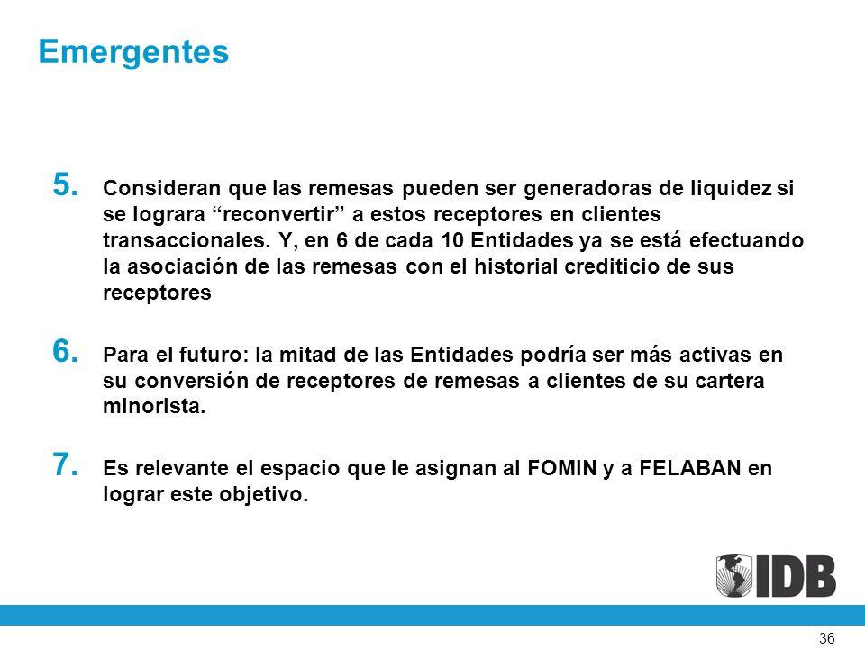 36 Emergentes 5.