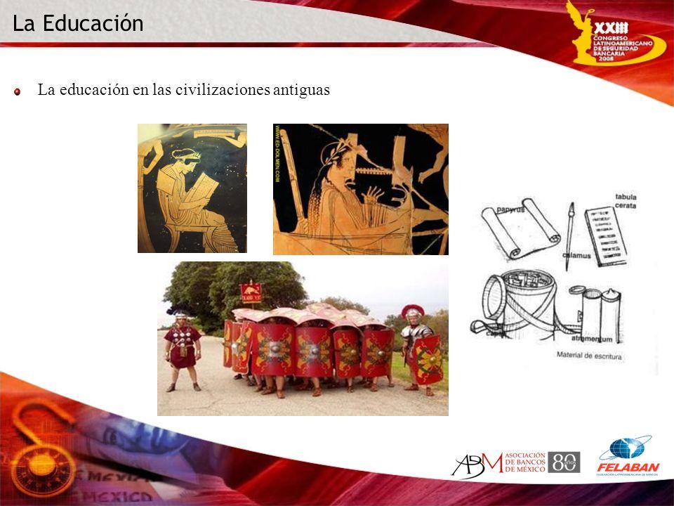 La educación en las civilizaciones antiguas La Educación