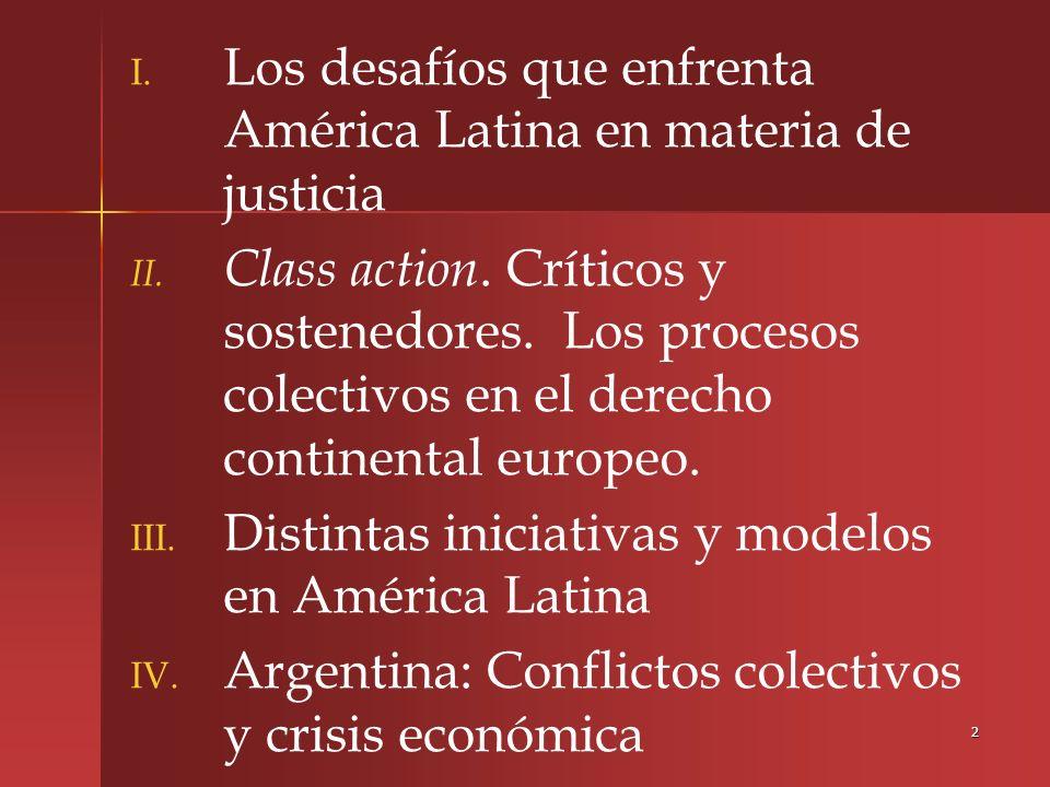 3 I Los desafíos que enfrenta América Latina en materia de justicia