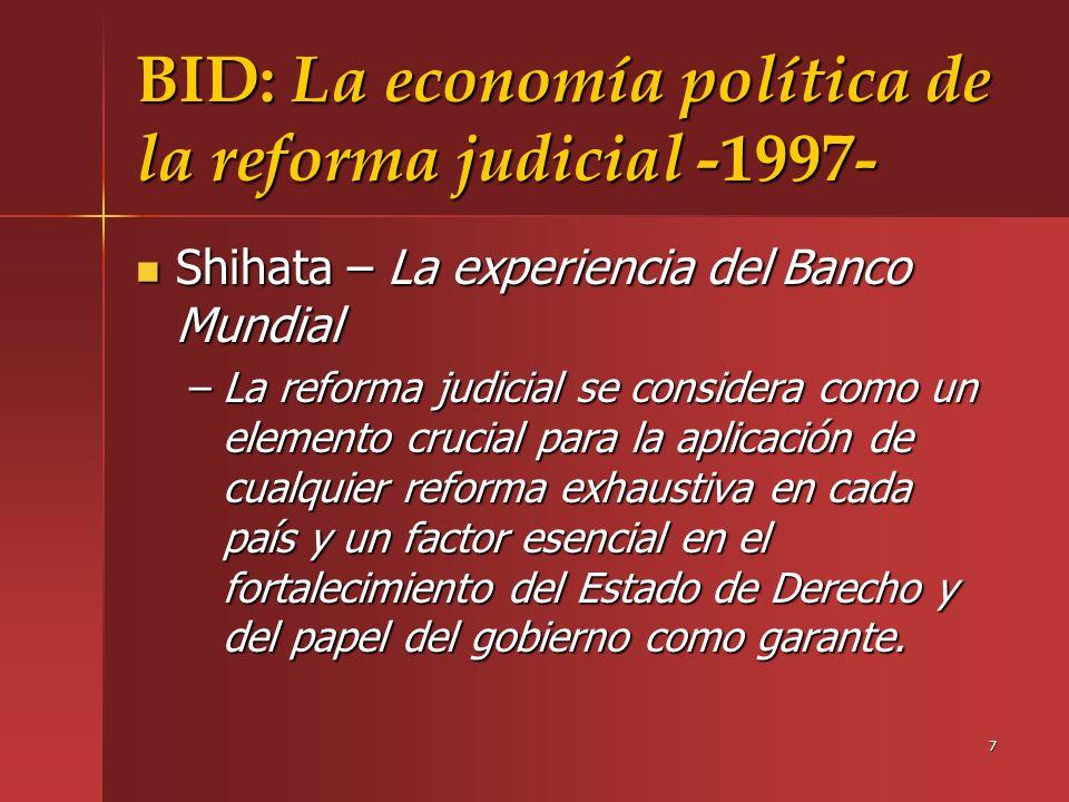 28 Brasil Características –Notificación al Ministerio Público al comienzo de la acción (art.