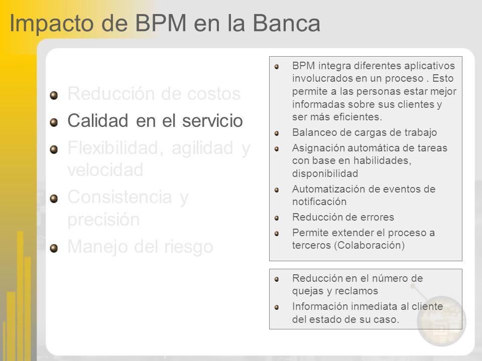 BPM integra diferentes aplicativos involucrados en un proceso. Esto permite a las personas estar mejor informadas sobre sus clientes y ser más eficien