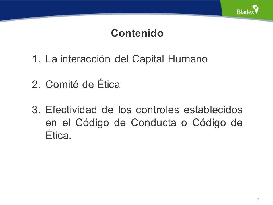 0 Conociendo al capital humano de su organización Por: Julio Aguirre VPA - Oficial de Cumplimiento Principal Bladex