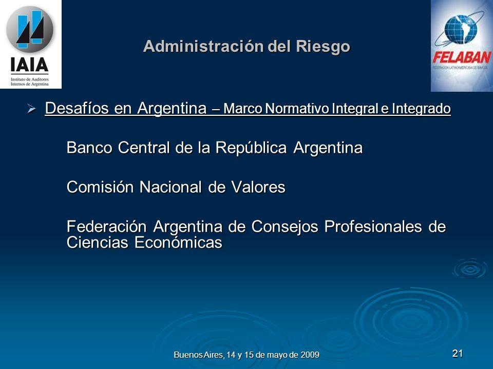 Buenos Aires, 14 y 15 de mayo de 2009 22 monica.cukar@ar.ey.com